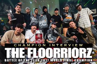 BOTY CHAMPION INTERVIEW THE FLOORRIORZ